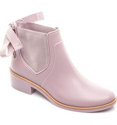 Pink Rain Boot