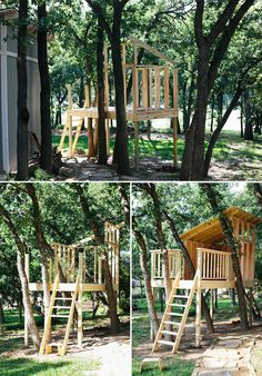 Treehouse In-Progress with custom build plans While historical throughout strategy, a pergola continues to Kids Playhouse Plans, Outside Playhouse, Build A Playhouse, Playhouse Kits, Indoor Playhouse, Simple Playhouse, Girls Playhouse, Wooden Playhouse, Building A Treehouse