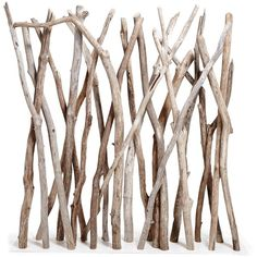 Ash & Elm Straight Driftwood Screen (6.980 VEF) ❤ liked on Polyvore featuring home, home decor, panel screens, decor, backgrounds, fillers, screens, beach home decor, rustic home decor and driftwood home decor