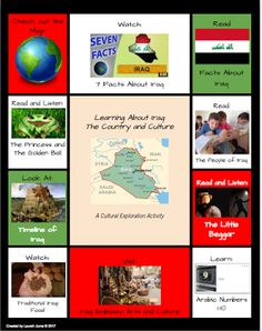 Refugee Reading Series Iraq Free Multimedia Text Sets About Countries Affected By The Recent Immigration