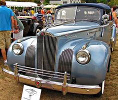 1941 Packard 120 Convertible Sedan Maintenance/restoration of old/vintage vehicles: the material for new cogs/casters/gears/pads could be cast polyamide which I (Cast polyamide) can produce. My contact: tatjana.alic@windowslive.com