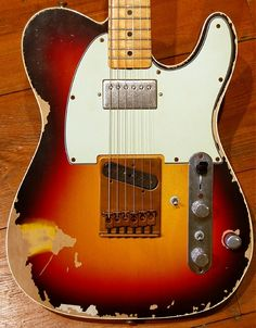 Andy Summer's Telecaster complete with ejector seat button!