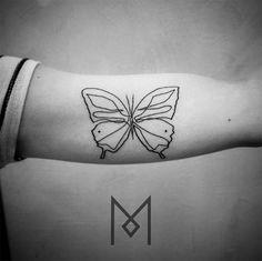 tattoo friday mo ganji linhas tatuagens estilizadas borboleta