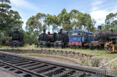 Locomotives and steam trains desperately awaiting restoration at Maldon - Back In Time, Train Station, Locomotive, Trains, Restoration, Past, Community, History, Past Tense