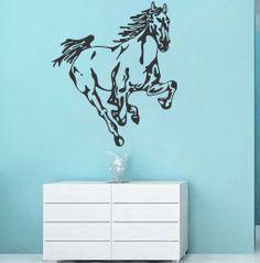Running Horse Animal Vinyl Decals Wall Sticker by VinylDecals2U, $24.65