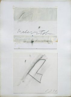 Charcoal Drawings Cy Twombly, To Malevitch, 1974 - Black And White Painting, White Art, Cy Twombly Art, Robert Motherwell, Wax Crayons, Easy Drawings, Artwork Drawings, Pencil Drawings, Mark Rothko