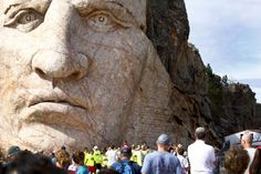 Up close and personal with Crazy Horse. Check out our photos of this year's Volksmarch Crazy Horse, Plan Your Trip, South Dakota, Native Americans, Sd, Mount Rushmore, Hiking, Park, Check