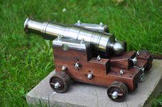 Mini Metal Cannon