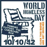 On the 10th of the 10th 2012 millions of people around the world will mark World Homeless Day in many varied ways and change the lives of homeless people in their local community.