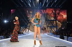 The Victoria's Secret Fashion Show 2016 took place at the Grand Palais in Paris, France, on Nov. 30, featuring some of the world's top models like Kendall Jenner, Gigi Hadid and Alessandra Ambrosio, plus performers Lady Gaga, Bruno Mars and The Weeknd. Take a look some of the best moments from the show, which will be broadcast on Dec. 5. ﴾Pictured﴿ Lily Donaldson walks the runway as Lady Gaga performs.