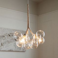 Pelle Bubble Chandeliers