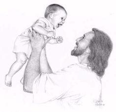 Shangrala's Jesus Laughing Art