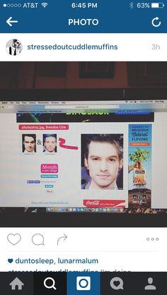 JOSH DUN AND BRENDON URIE LOVE CHILD SIGN ME UP << I'd tap that