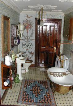 Vintage bathroom ideas on pinterest victorian bathroom for Victorian era bathroom designs