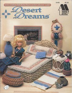 Crochet Pattern Desert Dreams Annie's by KnitKnacksCreations