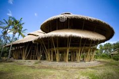 Green School - Indonesia - teaches students how to build with sustainable materials