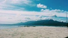 One Laiya's beach (Camille Banzon) Tight Budget, Manila, Philippines, Budgeting, Beach, Water, Summer, Outdoor, Gripe Water