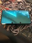 Nintendo 3DS Launch Edition Aqua Blue Handheld System AS IS