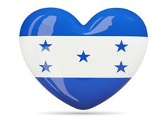 Heart icon. Download flag icon of Honduras