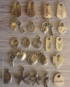 Add More Charms - handmade crystal energy gemstone jewellery Earth Jewel Creations Australia
