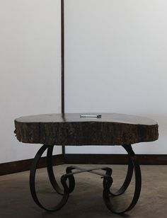 Handcrafted & Reclaimed Solid Wood Slab Coffee Table // PandA Creations