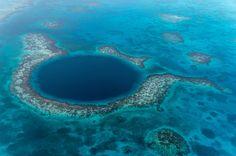 The Great Blue Hole In Belize By Wataru Ebiko