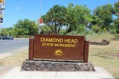 Diamond Head trailhead