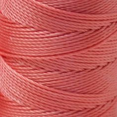 Great for micro-macramé, bead crochet, kumihimo, knotting and other textile projects, C-Lon bead cord is a 3-ply twisted multi-filament nylon that has been an industry standard for many years. Origina