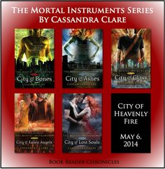 Read the city of bones series if you love mystery, love !