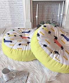 Look at this Doggies Floor Pillow on #zulily today!