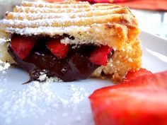 Holy Panini!! - Proud Italian Cook Love this woman's blog.  Everything looks good.  And why didn't I think of grilling a poundcake 'sandwich' with strawberries and chocolate on a panini press?
