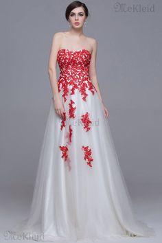 Prinzessin A-Linie normale Taille ärmelloses formelles Abendkleid aus Tüll - Bild 1
