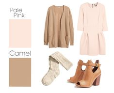 Pale Pink & Camel | 26 Essential Fall Color Palettes You Need To Try