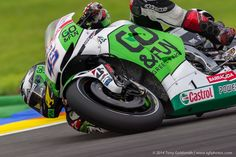Redding finally gets a better bike at the Valencia test after the 2014 season.