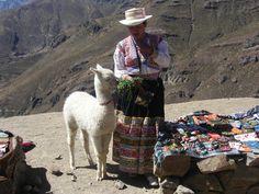 en Peru, Valle del Colca