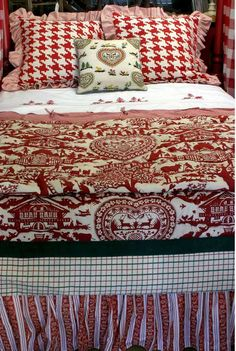 Alpine bed linens