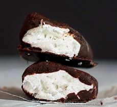 healthy mounds bars ~ scroll down the page for the recipe.