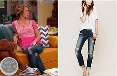 Shop Your Tv: Good Luck Charlie: Season 4 Episode 4 Teddy's Ripped Jeans
