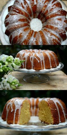 Delicioso bundt cake de naranja / http://www.tererecetas.com/