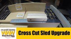 Cross Cut Sled Upgrade - Off the Cuff - Wacky Wood Works.