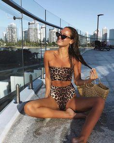 Shop stylish women's swimwear at FABKINI & find tankinis, bikinis, one-piece swimsuits, monokinis & more. Sexy Bikini, Bandeau Bikini, Womens Fashion Online, Latest Fashion For Women, Vacation Outfits, Summer Outfits, Summer Ootd, Spring Summer, Bikini Types