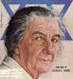 Israel Prime Minister Golda Meir was born May 3, 1898.