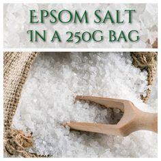 Pure 100% Epsom salts 250g Relaxing Bath Soak | eBay