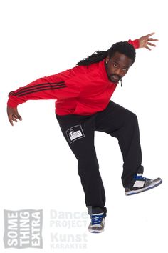 Danser Winfried Jop is part of the Dance Project Crew