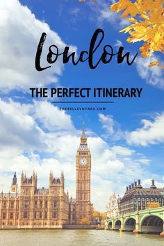 London, England – The Perfect Itinerary for First-Timers | London England Travel Guide. Travel in Europe.