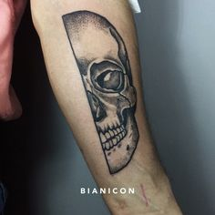 #bianicon #tattoos #black #skull