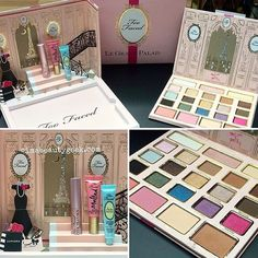 Too Faced Le Grand Palais De Too Faced Palette $59 for Holidays 2015 at Sephora