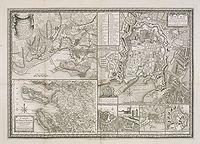 CHALMANDRIER, N. - Nouveau  plan de La Rochelle : tel qu Vintage World Maps, How To Plan, Cards