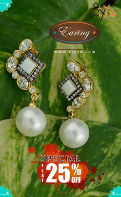 Shop Now ➪ http://www.styyo.com/exclusive-jewellery/earings