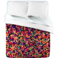 DENY Designs Amy Sia Floral Explosion Duvet Cover, Twin by DENY Designs. $161.04. Color Top:  Full color Color Bottom:  White. Metal snaps for closure. Closure:  Metal snaps seen in snap closure view. Fabric:  Ultra soft, 100-Percent polyester microfiber. Manufacturing:  6 color dye process, custom printed for every order. Turn your basic, boring down comforter into the super stylish focal point of your bedroom with this DENY Designs duvet cover. Custom printed when you...
